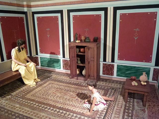Inside Roman Villa