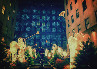 New York City - Rockefeller Center Christmas - Snowflakes | by Vivienne Gucwa