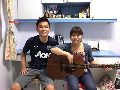 1 to 1 guitar lessons Singapore Jolyn