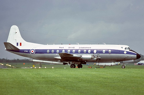 XT661 Viscount RAE, MOD(PE) Bedford | by Stuart Freer - Touchdown Aviation
