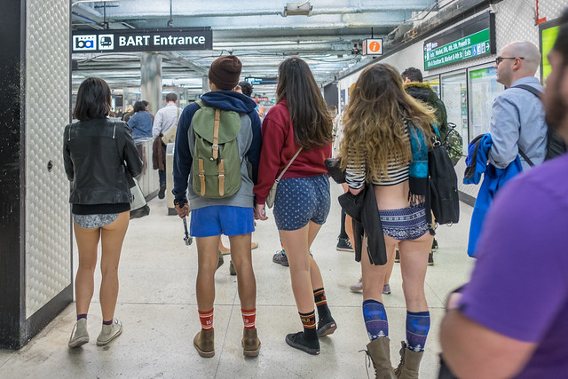 No Pants Subway Ride 2015: chivalrously yaw disillusionment
