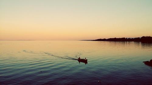 sunset canada fishing bc britishcolumbia vancouverisland cr campbellriver vanisland