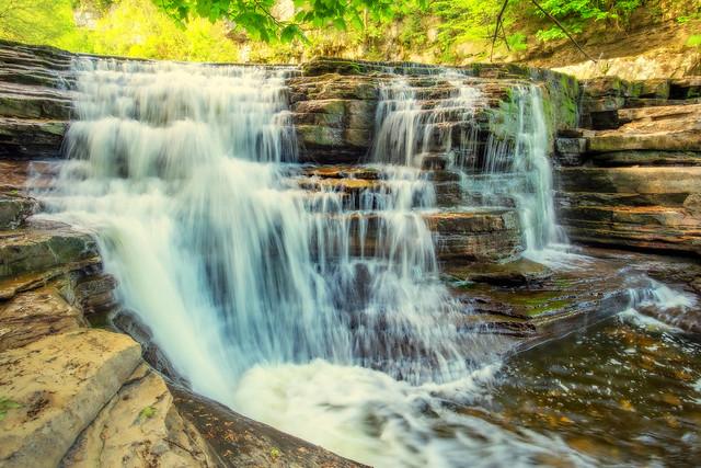 Keld Waterfall North Yorkshire