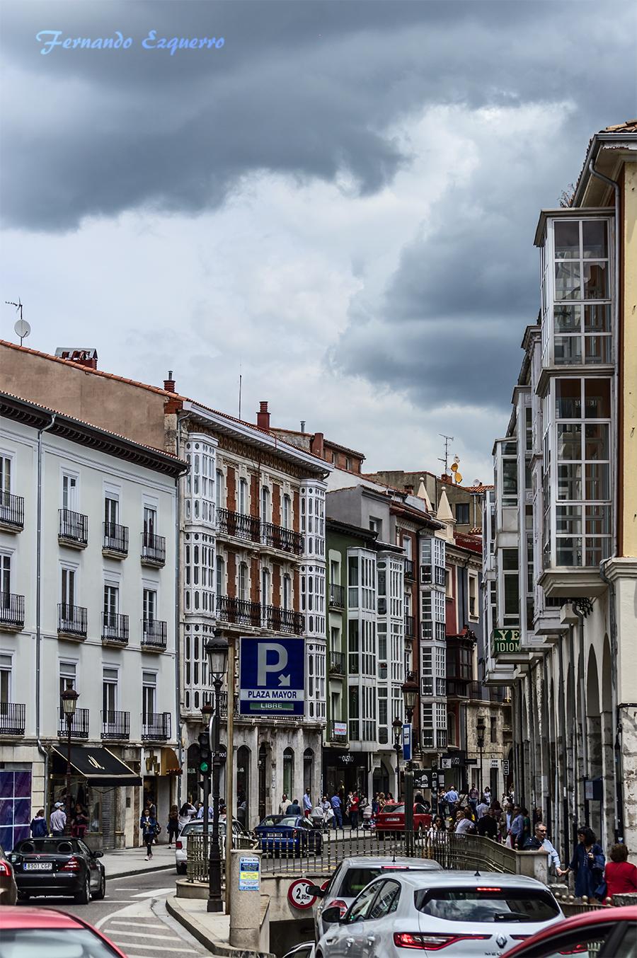 Calle Santander de Burgos