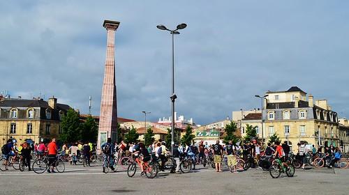 Rassemblement Vélo-cité à Bordeaux