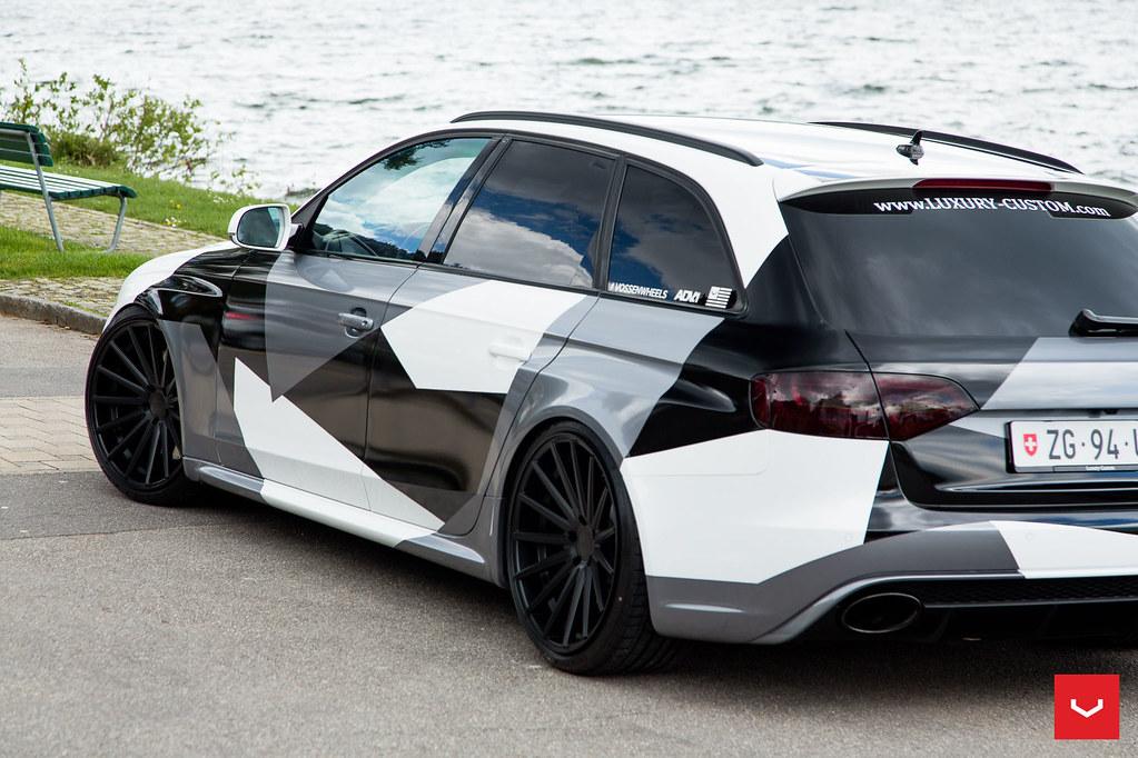 better new release fashion Audi B8 RS4 Avant - Vossen VFS-2 20x10.5 Wheels - © Vossen ...