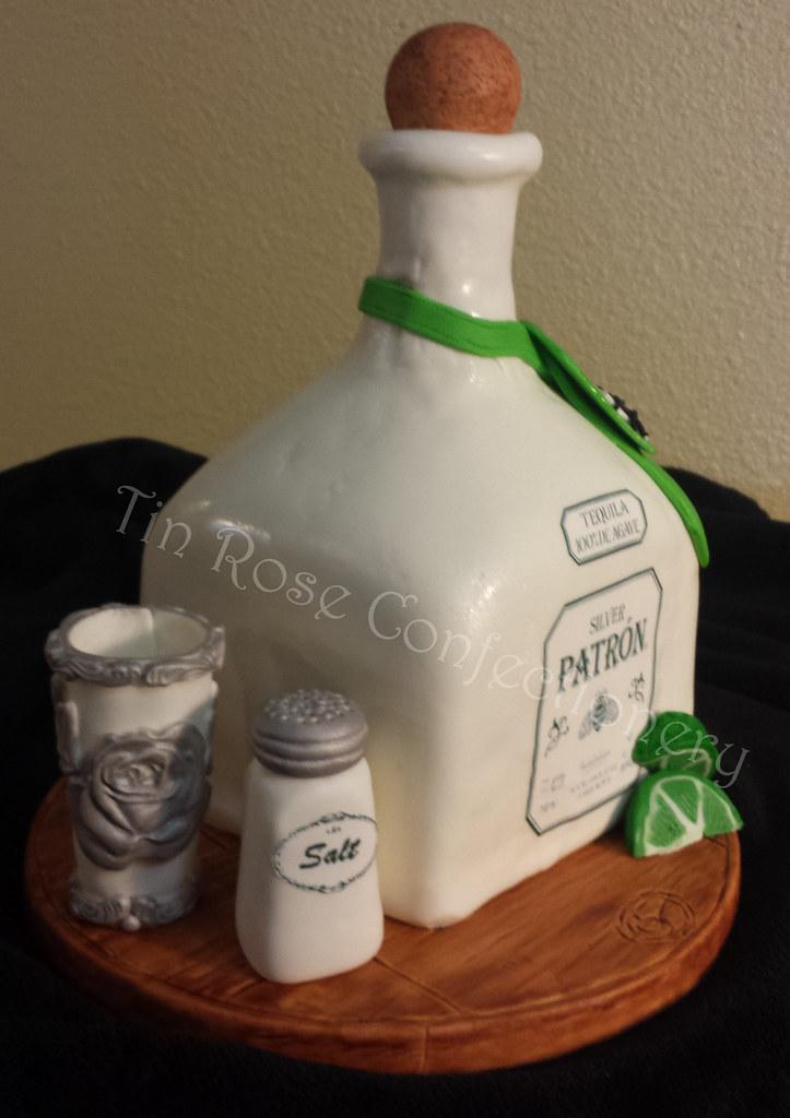 3 Patron Bottle Birthday Cake Samantha Caudle Flickr