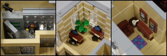 LEGO Modular Building: Main Post Office - Bank On the 2nd Floor
