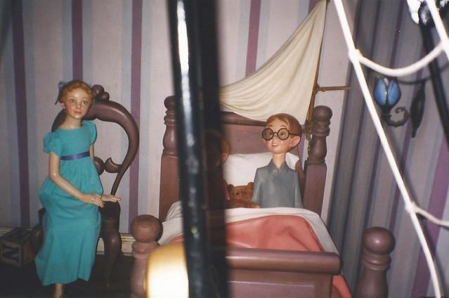 El vuelo de Peter Pan/Peter Pan's Flight, Fantasyland, Disneyland,  Anaheim, California, USA - www.meEncantaViajar.com