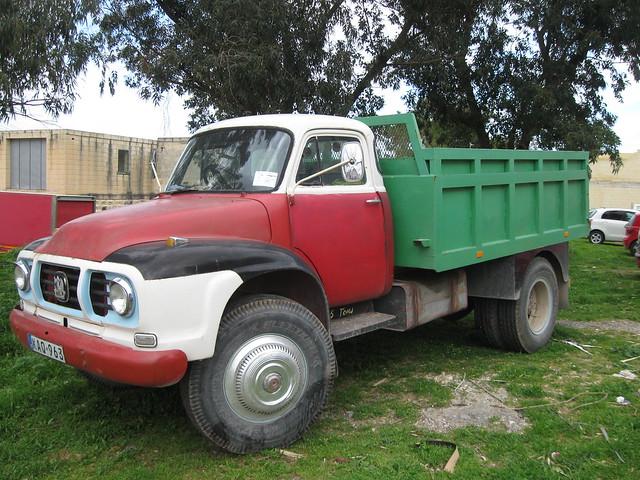 Bedford J type truck still on the road in Malta 2012