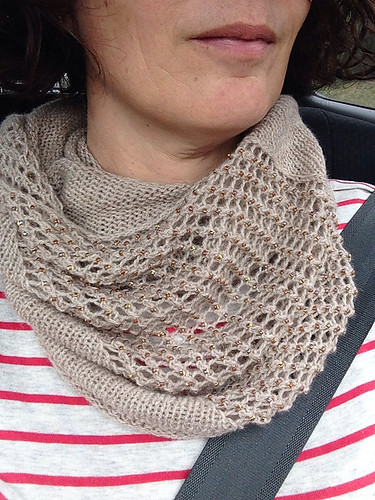Jewelled Cowl | by RandomKnits