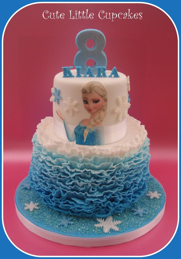 Excellent Frozen Birthday Cake Design Credit Always With Cake Heidi Personalised Birthday Cards Epsylily Jamesorg