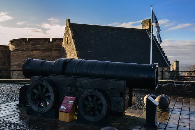 Mons Meg, Edinburgh