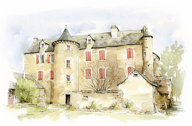 Les Crouzets, Aveyron, France