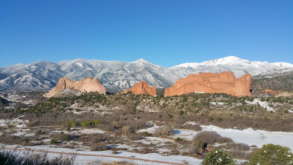 Garden Of The Gods Colorado Springs Co Taken From The M