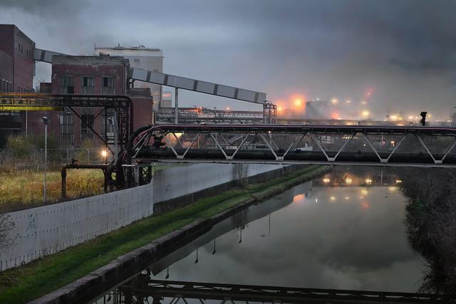 TATA Europe Chemicals Lostock Graylam soda ash plant, Northwich