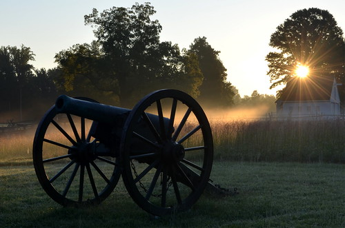 Gaines' Mill August Sunrise