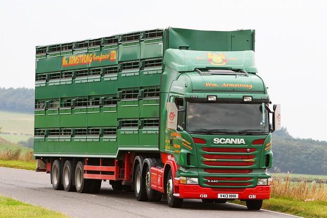 Scania R440 V413 HHH - Wm Armstrong