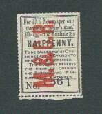 Maryport & Carlisle Railway Newspaper stamp undated | by ian.dinmore