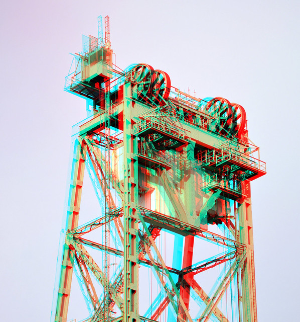 Dismantling elevator De Hef 3D