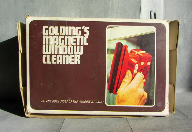 Golding's Magnetic Window Cleaner By Stanley Golding Limited 29 Charlton Church Lane London England 1970s - 1 Of 7