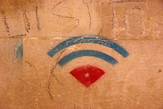 Free wifi. As in speech | by Eric Vernier