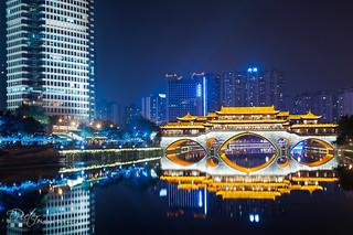 Chengdu - Anshun bridge by plej_photo - 乐让菲力