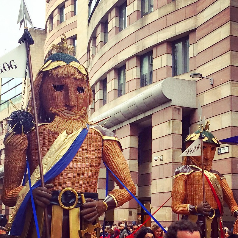 Gog and Magog - Instagram
