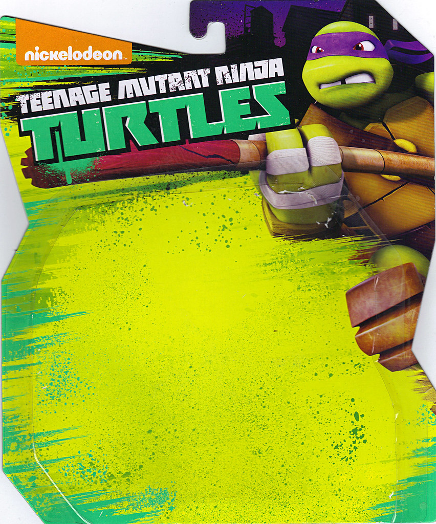 Nickelodeon   TEENAGE MUTANT NINJA TURTLES :: MYSTIC DON ..card backer i  (( 2014 )) by tOkKa