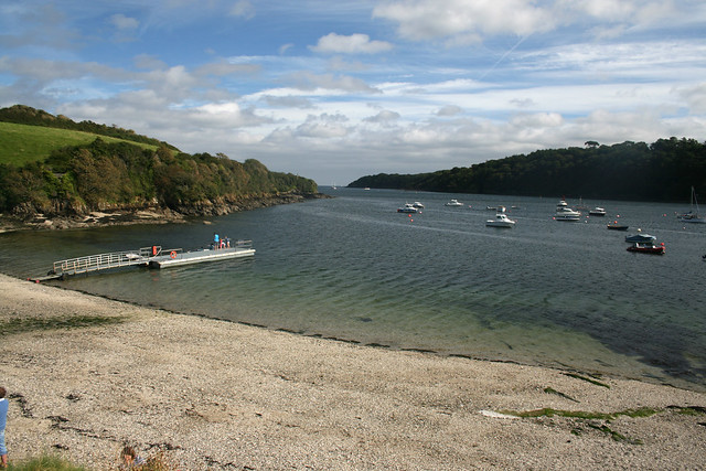 The Helford river at Helford Passage