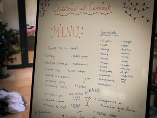 Our ambitious Christmas menu | by monica.shaw