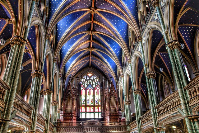 Ottawa Ontario ~ Canada ~ Notre-Dame Cathedral Basilica ~ National Historic Site of Canada