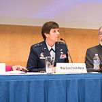 Wed, 06/22/2016 - 13:56 - On Wednesday, June 22, 2016, the William J. Perry Center for Hemispheric Defense Studies hosted 'LGBT Personnel in the Armed Forces: Advancing a Position of Inclusivity and Embracing Diversity.' Panelists included  Ms. Amanda Simpson, Deputy Assistant Secretary of Defense for Operational Policy; Major General Patricia Rose, USAF; Brigadier General (P) Randy Taylor, USA; Dr. Alan Okros, OMM, CD; Mauricio Orrego Saavedra, Chief of Staff, Office of the Under Secretary of the Armed Forces, Chile; Ms. Kristin Beck, Senior Chief Petty Officer (Ret.), US Navy Seal; and Ms. Jennifer Dane, Diversity & Inclustion Policy Analyst at American Military Partner Association.