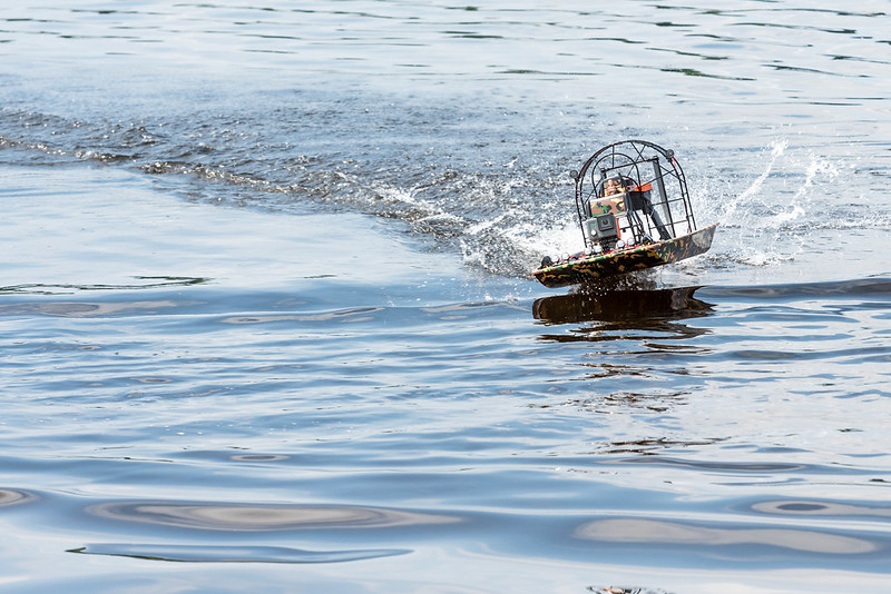 Arthur's Airboat.