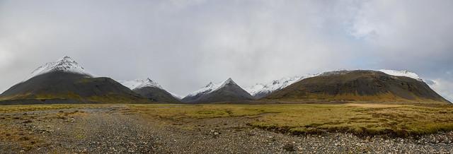 Icelandic Mountain Panorama