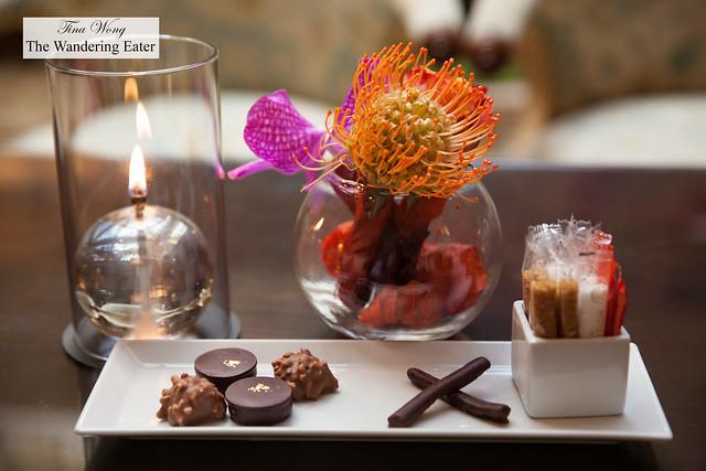 Housemade chocolates