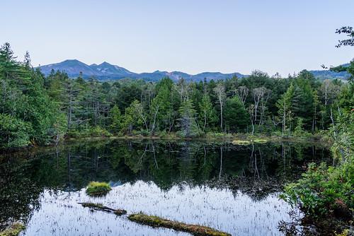 長野県 松本市 japan 乗鞍高原 starscape 高原 field 乗鞍岳 山 mountain 夕景 sunset 牛留池