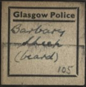Barbary Sheep hair label