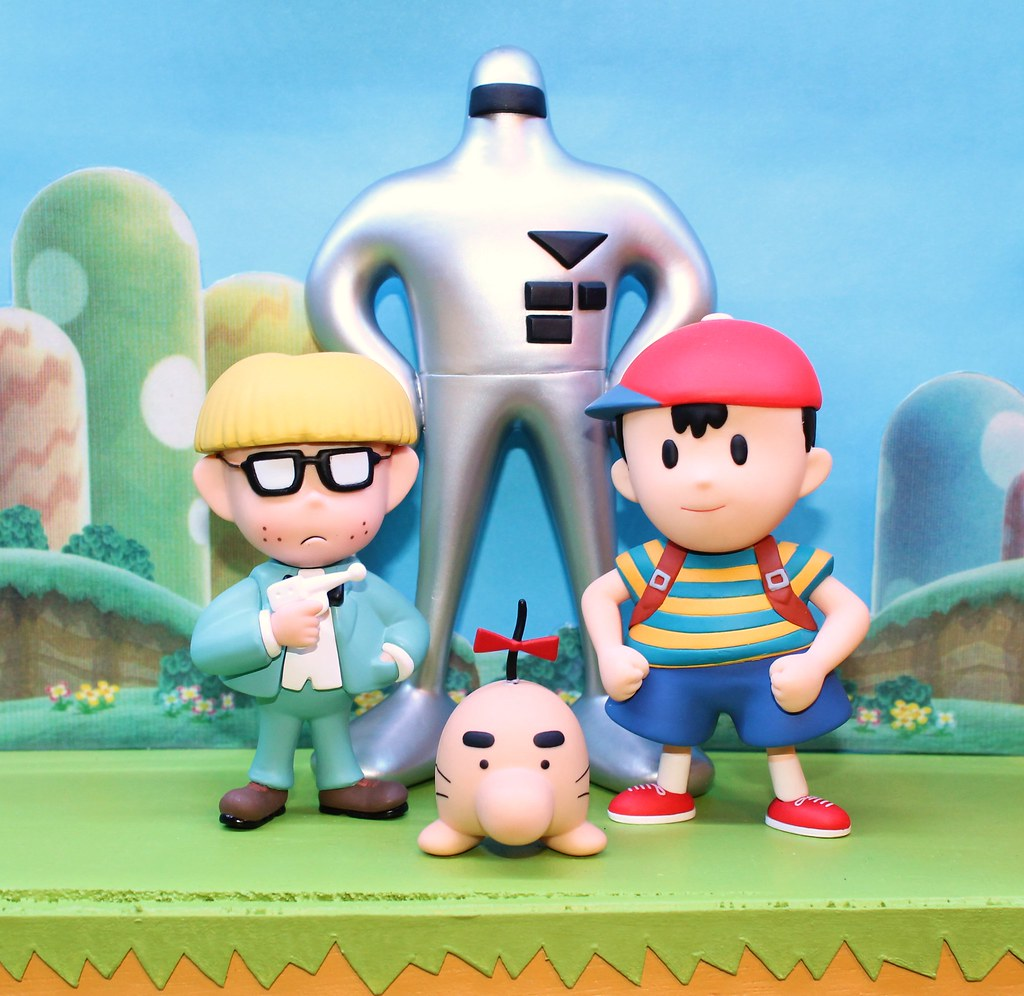 Earthbound (Mother 2) characters in Smash Brothers | Flickr