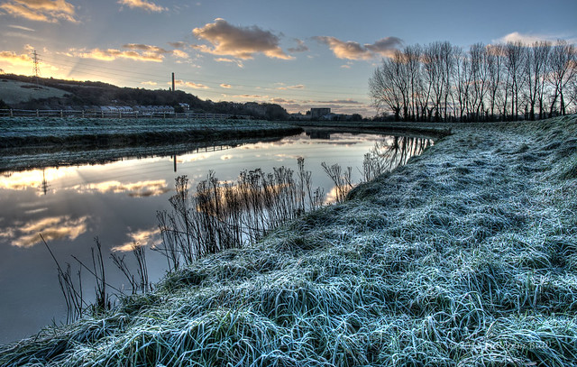 Frosty Morning by the Adur