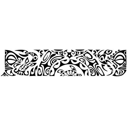 An Armband Tattoo Design In Polynesian Style Ricardo Kozak Flickr