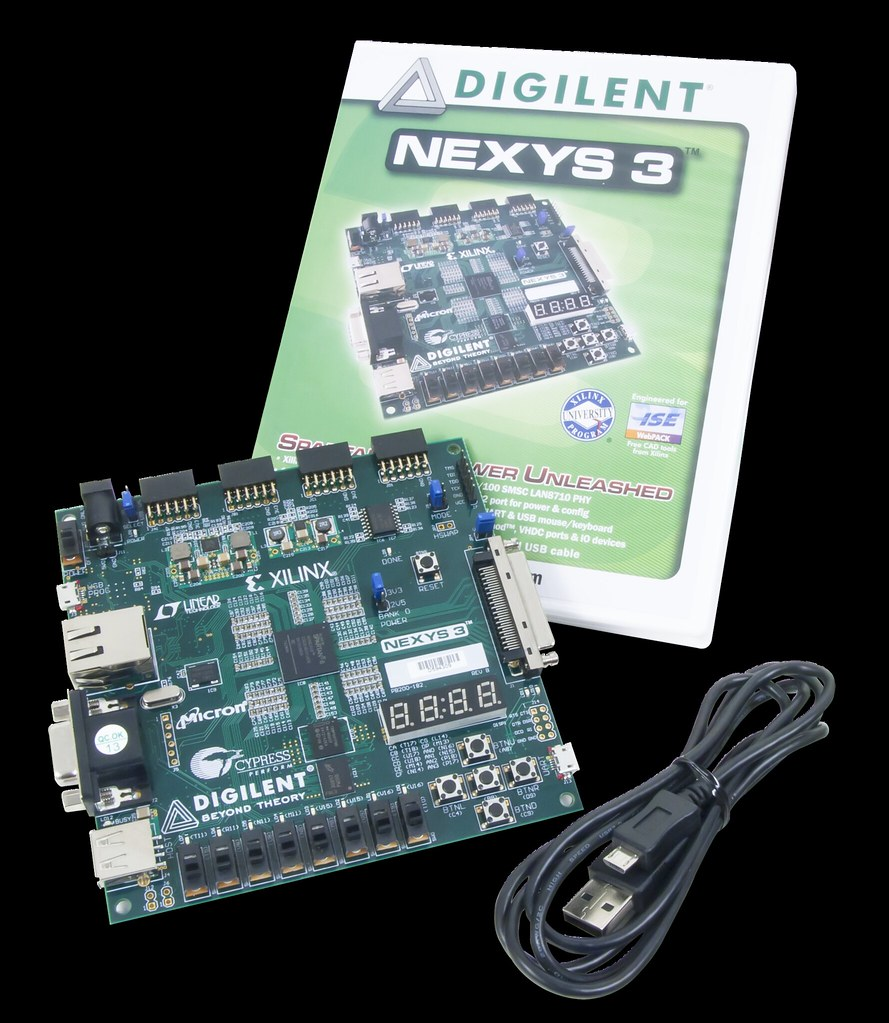 Nexys 3 Spartan-6 FPGA Trainer Board | The Nexys 3 digital s… | Flickr