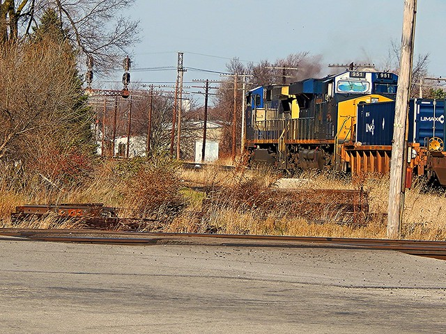 Northbound CSX at Fostoria Ohio