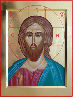 2014 Icône du Christ Pantocrator Sauveur / Christ the Savior Icon - Main de - Hand of Suzanne Sirois | by Périchorèse-iconographie