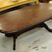 Oval mahogony coffee table