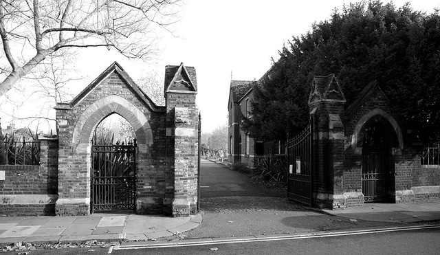 Gates into the Cemetery