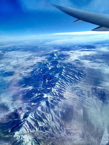 travel sky mountains utah view outdoor aerial
