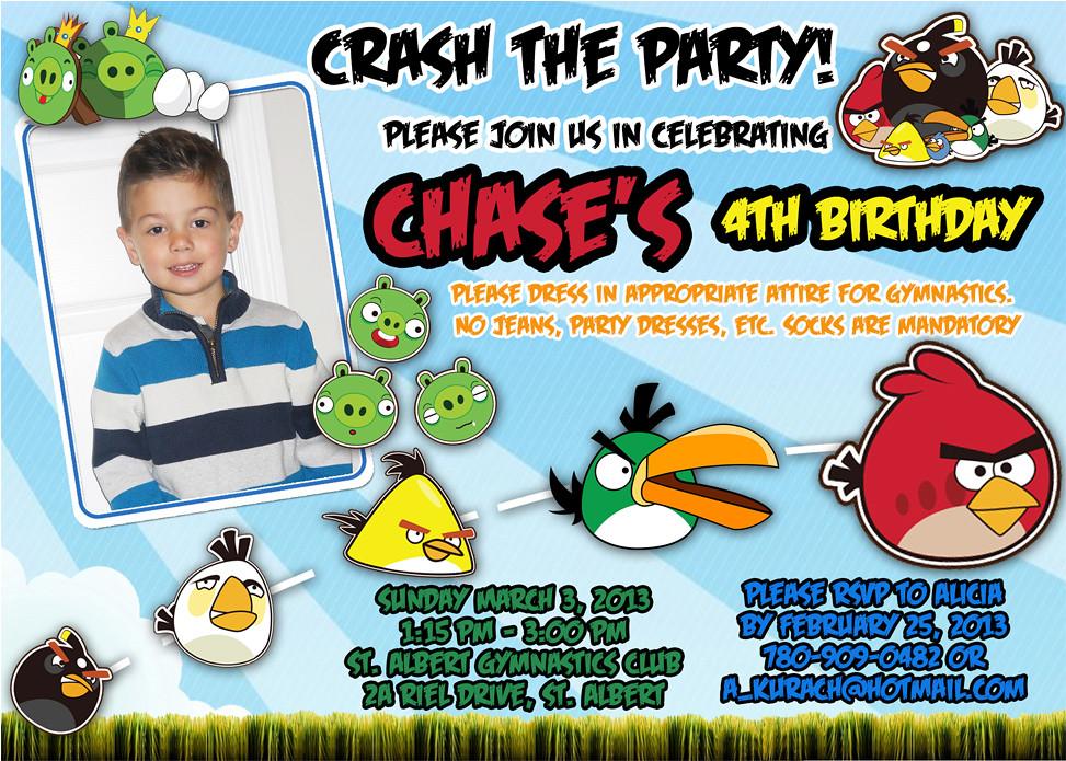 Angry Birds Movie 2016 Custom Birthday Invitation A Photo On Flickriver