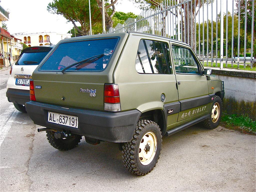 Fiat Panda 4x4 >> 1989 Fiat Steyr Puch Panda 4x4 Sisley The Fiat Panda Was I