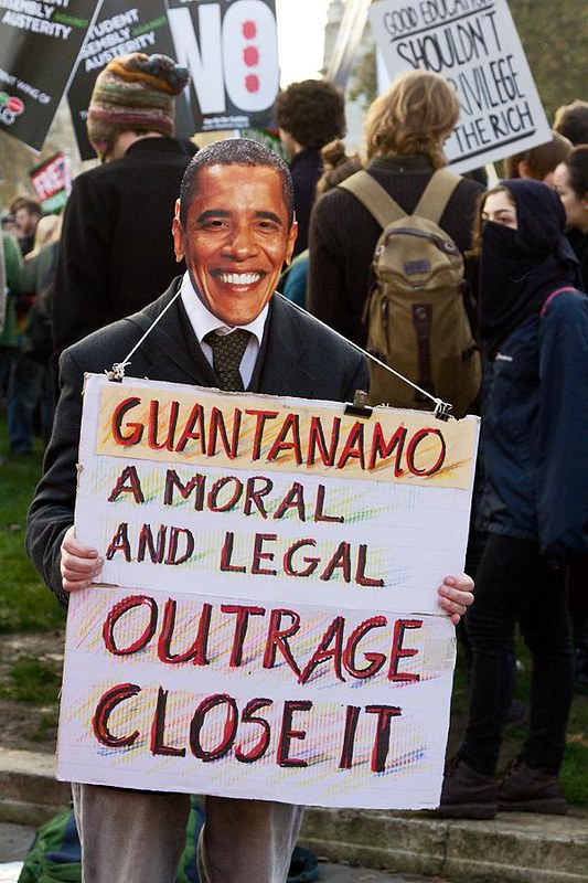 """Guantanamo - A Moral and Legal Outrage - Close It"""